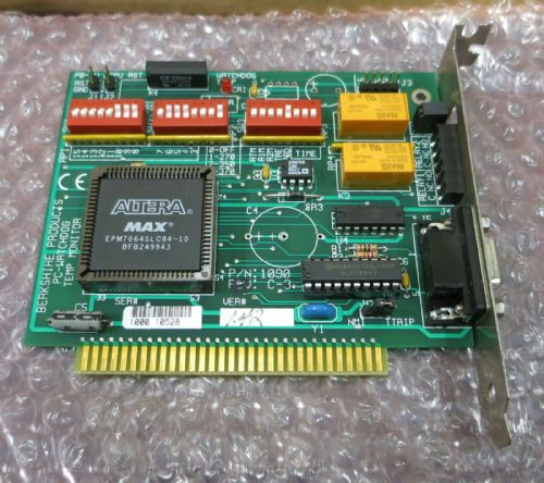 Berkshire Products PC WatchDog Temp Monitor Computer Card ISA-1090